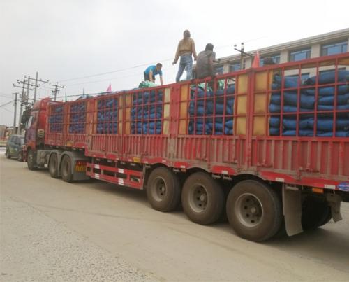 发往长沙34吨果壳炭