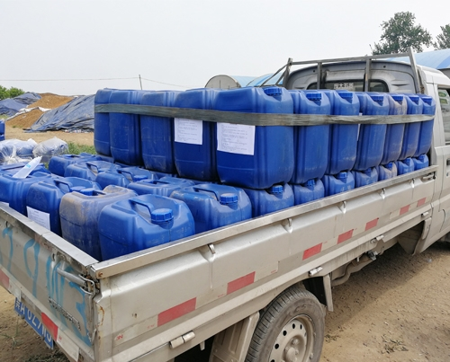 2吨木醋液发往新疆