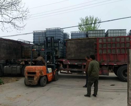 吨装木醋液发往陕西
