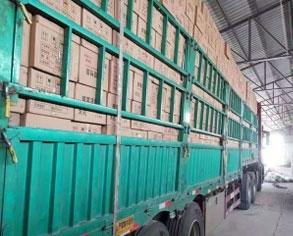 100个立方蜂窝活性炭已发货天津