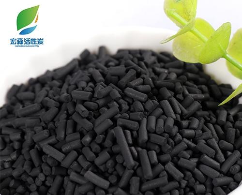 工业柱状活性炭工艺